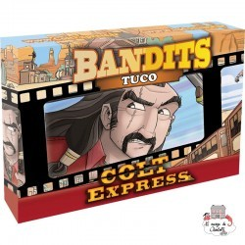 Colt Express - Bandits - Tuco - LUD-191163 - Ludonaute - for the older - Le Nuage de Charlotte