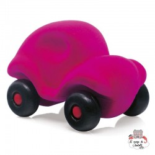 Rubbabu Car Pink - RUB-26035 - Rubbabu toys - Push along - Le Nuage de Charlotte