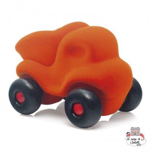 Rubbabu Dump Truck Orange - RUB-24033 - Rubbabu toys - Push along - Le Nuage de Charlotte