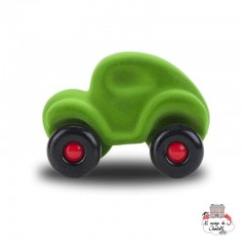 Rubbabu Car Green - RUB-22035 - Rubbabu toys - Push along - Le Nuage de Charlotte