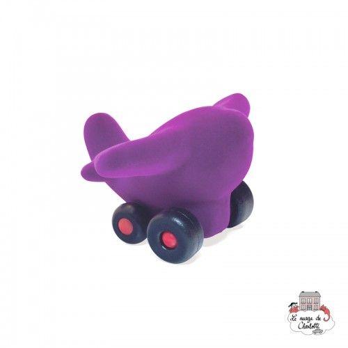 Rubbabu Plane Takota Purple - RUB-29181 - Rubbabu toys - Push along - Le Nuage de Charlotte