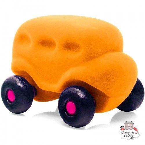 Rubbabu Bus Yellow - RUB-25031 - Rubbabu toys - Push along - Le Nuage de Charlotte