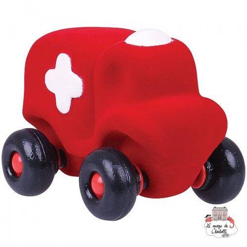 Rubbabu Ambulance Red - RUB-20111 - Rubbabu toys - Push along - Le Nuage de Charlotte