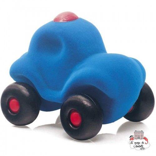 Rubbabu Police Car Blue - RUB-21029 - Rubbabu toys - Push along - Le Nuage de Charlotte