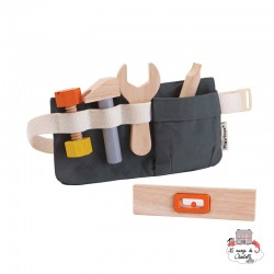 Tool Belt - PLT-3485 - PlanToys - DIY and Gardening - Le Nuage de Charlotte