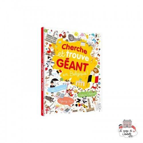 Cherche et trouve géant - en Belgique - AUZ-AU05119 - Editions Auzou - Activity Books - Le Nuage de Charlotte