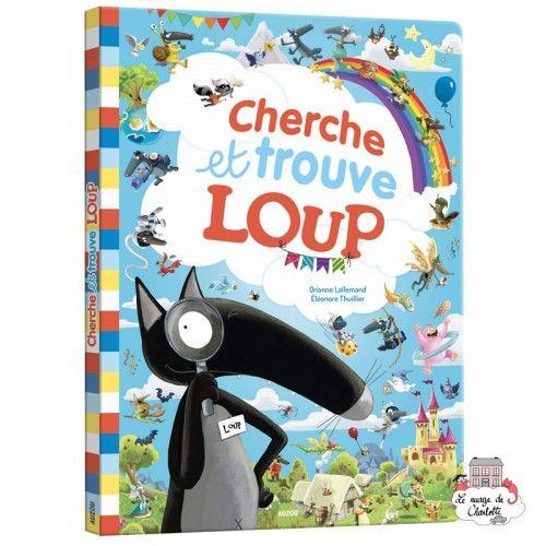 Cherche et trouve géant - Loup - AUZ-AU04963 - Editions Auzou - Activity Books - Le Nuage de Charlotte