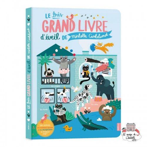 Le très grand livre d'éveil de Michelle Carslund - AUZ-AU04987 - Editions Auzou - Books - Le Nuage de Charlotte