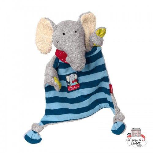 Elephant Comforter - SIG-48935 - sigikid - Baby Comforter - Le Nuage de Charlotte