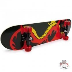 """Dragon"" skateboard - SMF-6788 - Small Foot - Skateboard - Le Nuage de Charlotte"