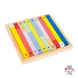 """Counting Sticks """"Educate"""" - SMF-11167 - Small Foot - Numbers and Letters - Le Nuage de Charlotte"""
