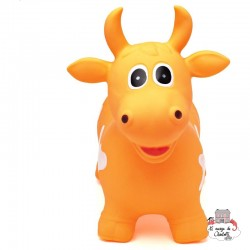 Hippy Skippy Cow - orange - HSY-120017 - Hippy Skippy - Hopper Ball - Le Nuage de Charlotte