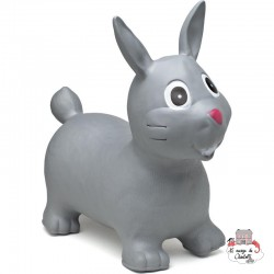 Hippy Skippy Rabbit - grey - HSY-120024 - Hippy Skippy - Hopper Ball - Le Nuage de Charlotte