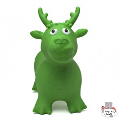 Hippy Skippy Dragon - green - HSY-120034 - Hippy Skippy - Hopper Ball - Le Nuage de Charlotte