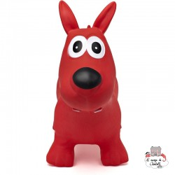 Hippy Skippy Dog - red - HSY-120062 - Hippy Skippy - Hopper Ball - Le Nuage de Charlotte