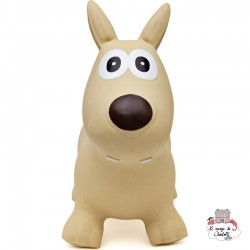 Hippy Skippy Dog - melted butter - HSY-120067 - Hippy Skippy - Hopper Ball - Le Nuage de Charlotte