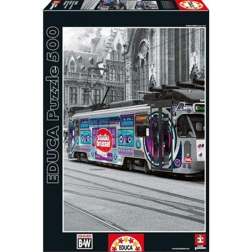 Ghent's Tram, Belgium - EDU-16358 - Educa Borras - 500 pieces - Le Nuage de Charlotte