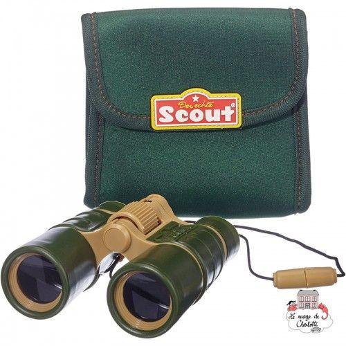 Binoculars with neoprene belt bag - HPL-19303 - Happy People - Discovery - Le Nuage de Charlotte