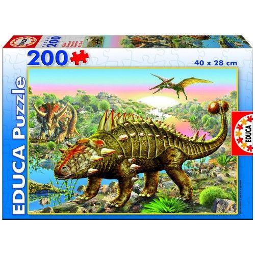 Dinosaurs - EDU0013 - Educa Borras - 200 pieces - Le Nuage de Charlotte