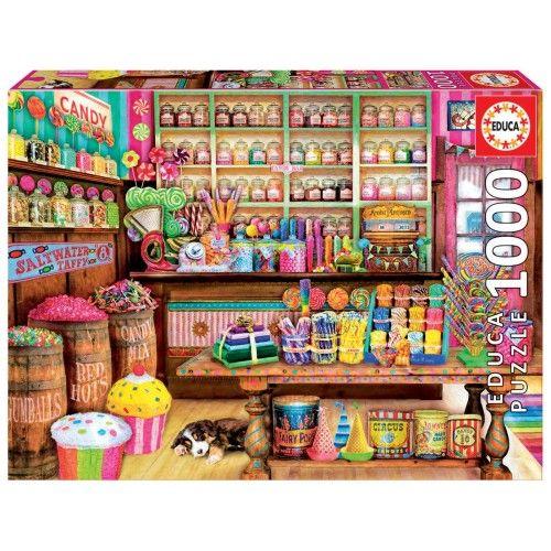 Candy Shop - EDU-17104 - Educa Borras - Adult Puzzles - Le Nuage de Charlotte