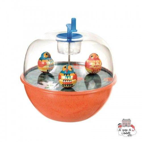 Musical Top with Owl - EGT-550335 - Egmont Toys - Musical toys - Le Nuage de Charlotte