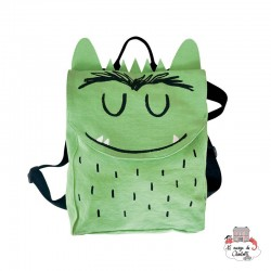 The Colour Monster - Green backpack - TCM-MG19W101 - The Colour Monster - Backpacks - Le Nuage de Charlotte