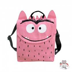 The Colour Monster - Pink backpack - TCM-MP19W102 - The Colour Monster - Backpacks - Le Nuage de Charlotte
