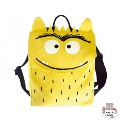 The Colour Monster - Yellow backpack - TCM-MY19W103 - The Colour Monster - Backpacks - Le Nuage de Charlotte