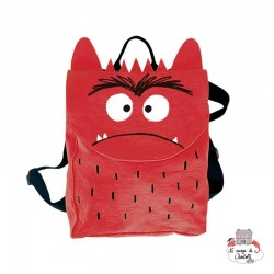 The Colour Monster - Red backpack - TCM-MR19W105 - The Colour Monster - Backpacks - Le Nuage de Charlotte
