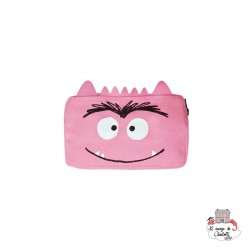 The Colour Monster - Pink Pencil Case - TCM-EP19W502 - The Colour Monster - Pencil Cases - Le Nuage de Charlotte