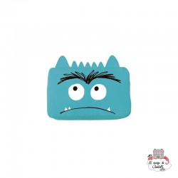 The Colour Monster - Blue Pencil Case - TCM-EB19W504 - The Colour Monster - Pencil Cases - Le Nuage de Charlotte