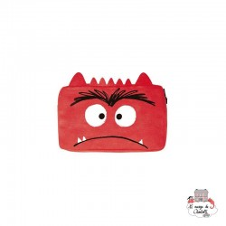The Colour Monster - Red Pencil Case - TCM-ER19W505 - The Colour Monster - Pencil Cases - Le Nuage de Charlotte