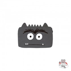The Colour Monster - Grey Pencil Case - TCM-EF19W506 - The Colour Monster - Pencil Cases - Le Nuage de Charlotte