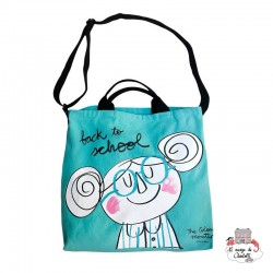 The Colour Monster - Turquoise Bag - TCM-ST19W302 - The Colour Monster - Shoulder bag - Le Nuage de Charlotte