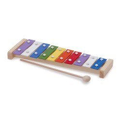 Metallophone with music book (10 bars) - NCT-10215 - New Classic Toys - Musical Instruments - Le Nuage de Charlotte