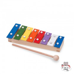 metallophone (8 bars) - NCT-10221 - New Classic Toys - Musical Instruments - Le Nuage de Charlotte