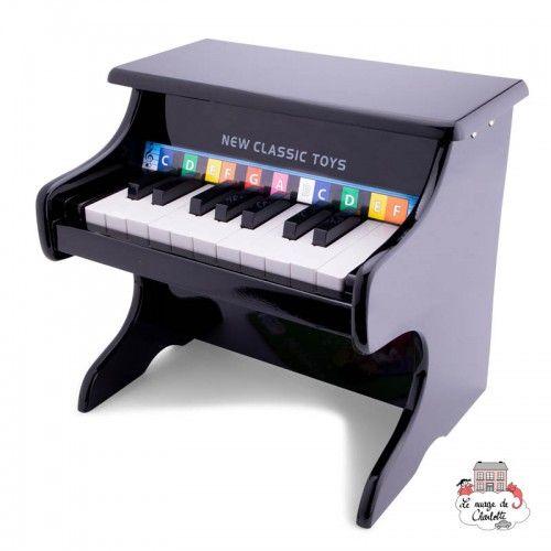 Piano black - 18 keys - NCT-10157 - New Classic Toys - Musical Instruments - Le Nuage de Charlotte