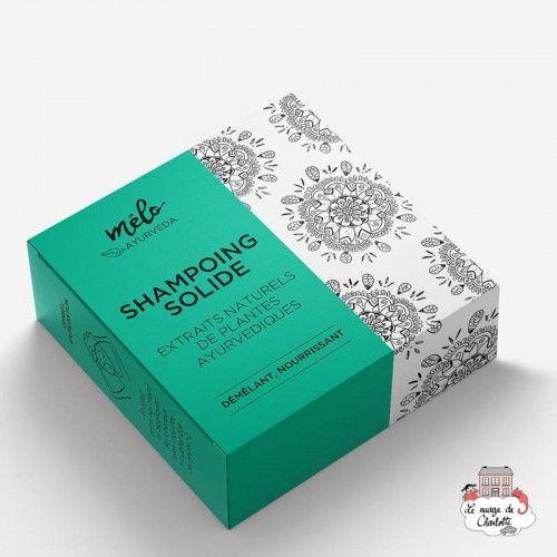 Solid Detangling Shampoo - MAY-ShaSolDem - Mélo Ayurveda - Zero waste cosmetics - Le Nuage de Charlotte