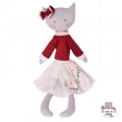 Bellamy the Cat 50 cm - BON-5063341 - Bonikka - Rag Dolls - Le Nuage de Charlotte