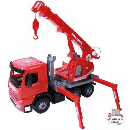 GIGA Trucks Fire Truck Crane - LEN-02175 - Lena - Cars, Trucks, etc. - Le Nuage de Charlotte
