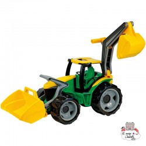 GIGA Trucks Tractor / Loader + Excavator - LEN-02080 - Lena - Cars, Trucks, etc. - Le Nuage de Charlotte