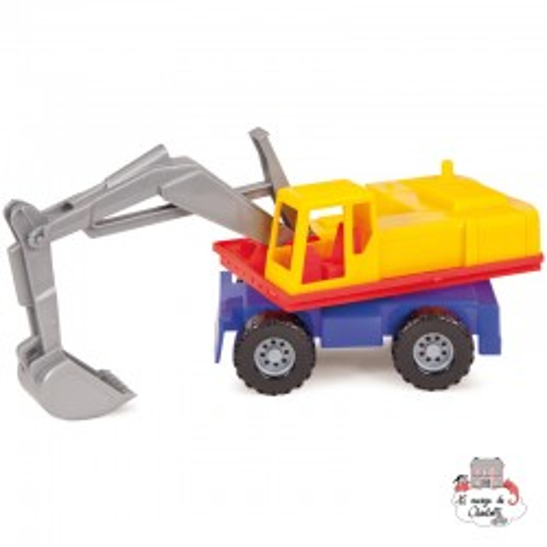 Profi Line Excavator - LEN-07251 - Lena - Cars, Trucks, etc. - Le Nuage de Charlotte