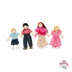 My Doll Family - LTV-P053 - Le Toy Van - Doll's Houses - Le Nuage de Charlotte