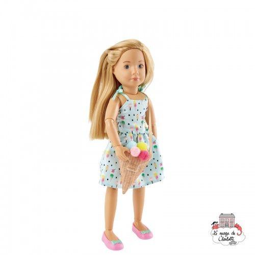 Kruselings Vera Sweet Mint Girl - KKE-0126872 - Käthe Kruse - Kruselings dolls - Le Nuage de Charlotte