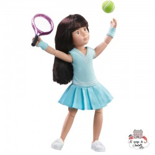 Kruselings Luna Tennis Practice - KKE-0126851 - Käthe Kruse - Kruselings dolls - Le Nuage de Charlotte