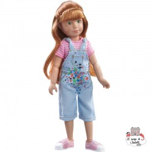 Kruselings Chloé a Gifted Painter - KKE-0126846 - Käthe Kruse - Kruselings dolls - Le Nuage de Charlotte
