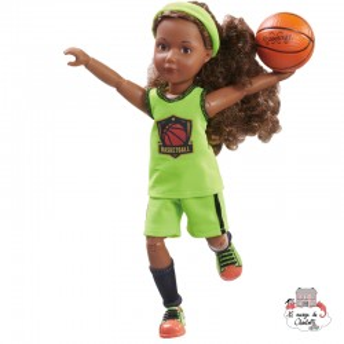 Kruselings Joy Basketball Star Player - KKE-0126849 - Käthe Kruse - Kruselings dolls - Le Nuage de Charlotte