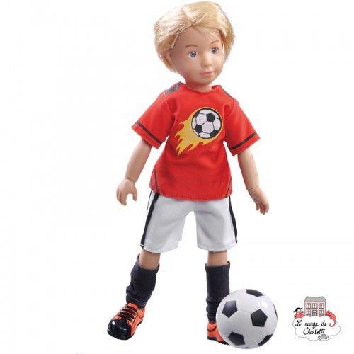 Kruselings Michael Soccer Ace - KKE-0126850 - Käthe Kruse - Kruselings dolls - Le Nuage de Charlotte