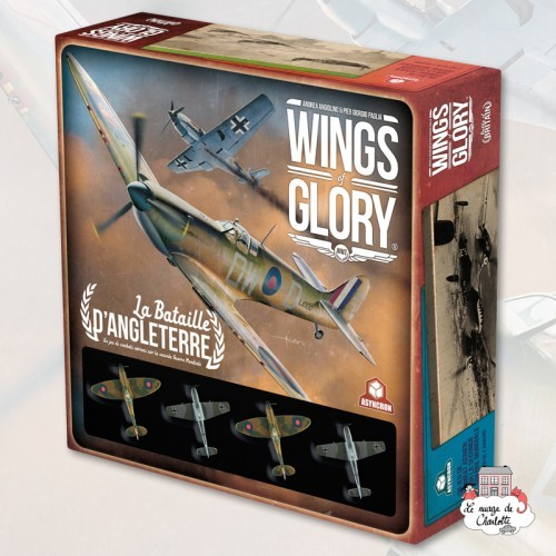 Wings of Glory - La Bataille d'Angleterre - ASY-ASYGH552 - Asyncron Games - Board Games - Le Nuage de Charlotte