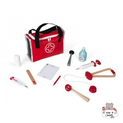 Doctor's Suitcase (Wood) - JAN-J06513 - Janod - For doing like the grown-ups - Le Nuage de Charlotte